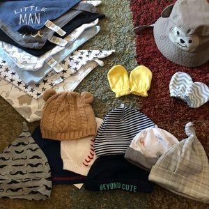 Baby boy bundle of accessories 👶🏻